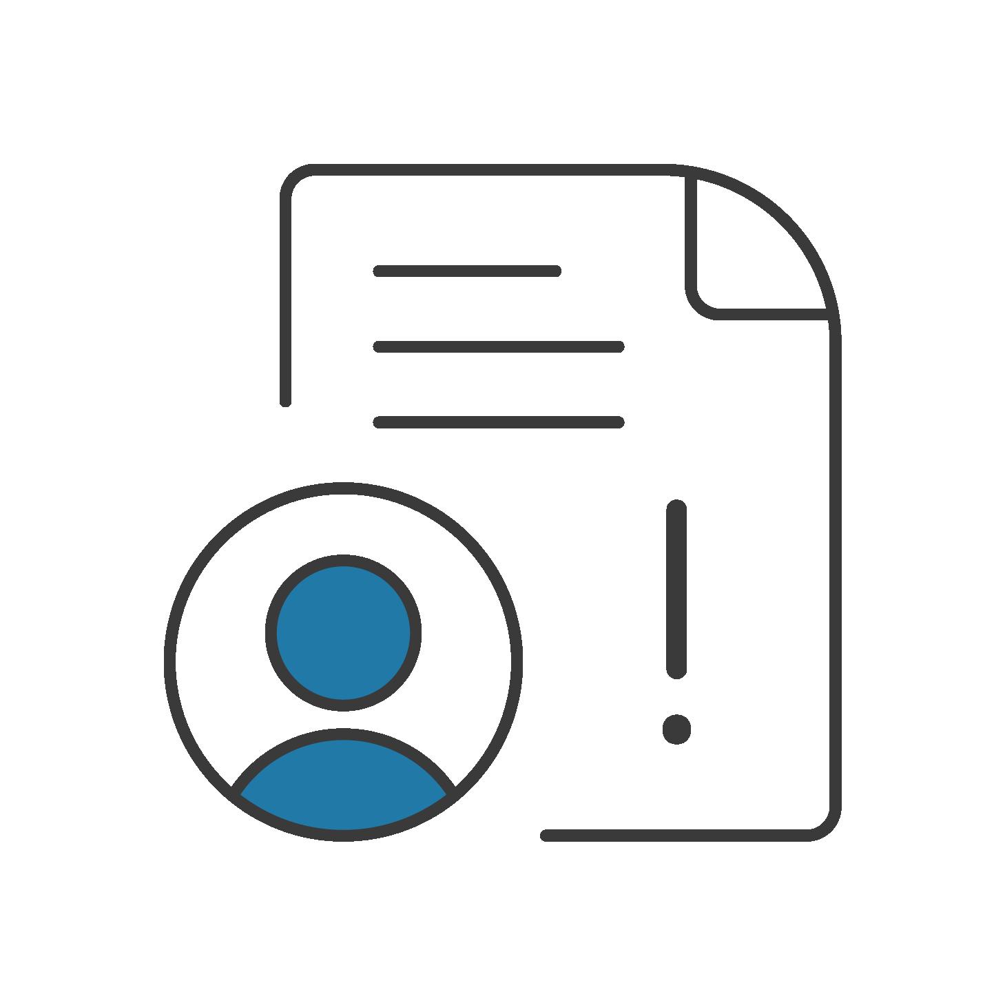 File a claim icon