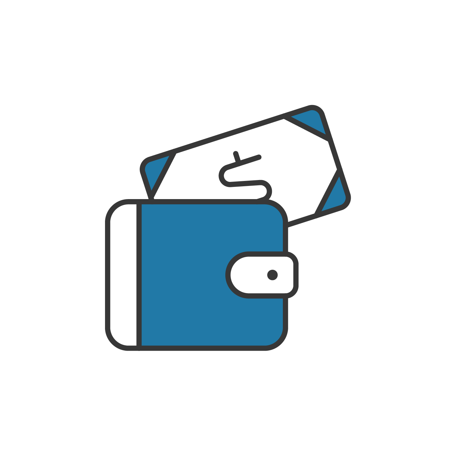 Pay a bill icon